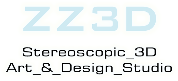 ZZ3D -- Stereoscopic 3D Art & Design Studio